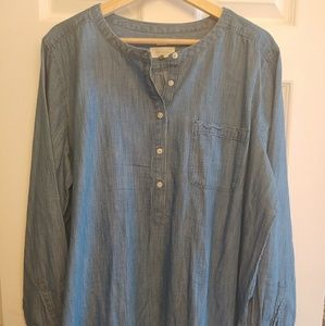 Ann Taylor Loft Women's Chambray Shirt